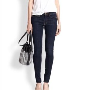 NWT FRAME LE SKINNY DE JEANNE JEANS QUEENS WAY